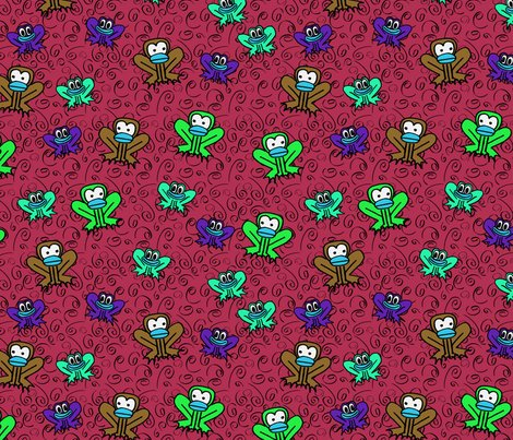 Rhenri_yoki_-_z3_-_two_frogs_in_wine_red_shop_preview