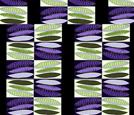 """Pea Pod Family #2"" fabric by elizabethvitale on Spoonflower - custom fabric"