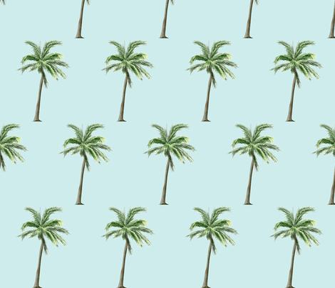 Palm tree  fabric by mezzime on Spoonflower - custom fabric