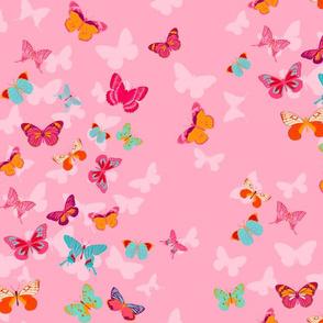 Butterfly Effect in pink