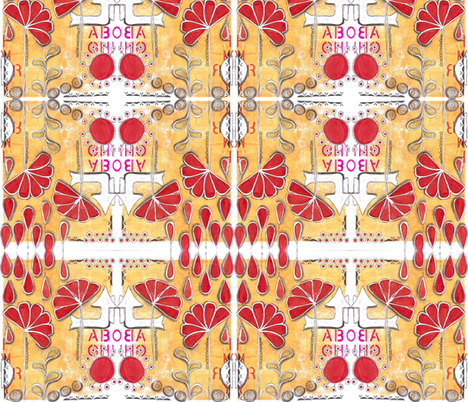 Moving up fabric by asouthernladysdesigns on Spoonflower - custom fabric