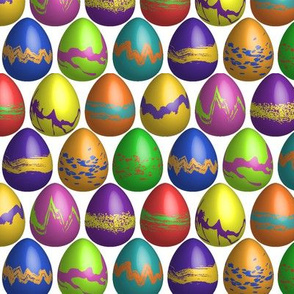 A Dozen Eggs in a Dozen Colors