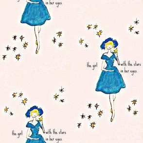 The girl with the stars in her eyes - mini