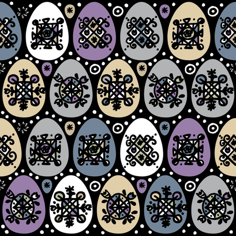 eggs_and_dots fabric by zapi on Spoonflower - custom fabric