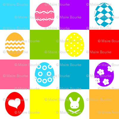 Checkerboard Eggs