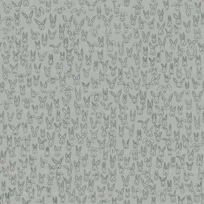 Bunny Pile (gray)