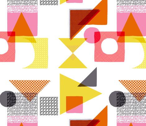 Playblocks fabric by francescaiannaccone on Spoonflower - custom fabric