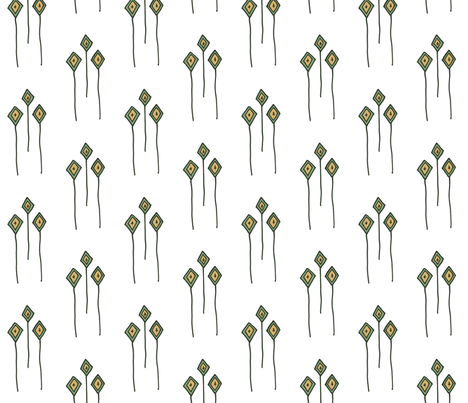 Kites 2 fabric by dalstonite on Spoonflower - custom fabric