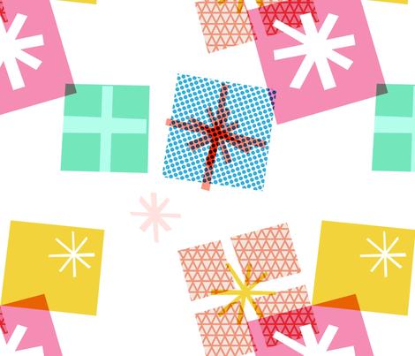 Presents fabric by francescaiannaccone on Spoonflower - custom fabric