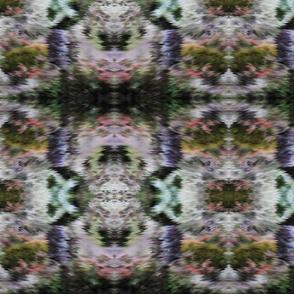 MOSS garden     vertical Kaleidoscope