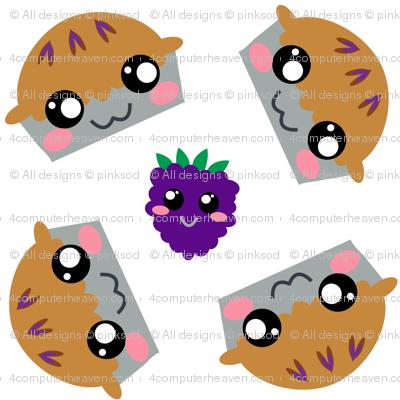 Blackberry Pie - Pi Day! - © PinkSodaPop 4ComputerHeaven.com
