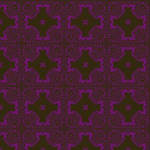 fractal black/purple