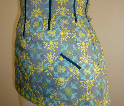 Apron (reversible) birds