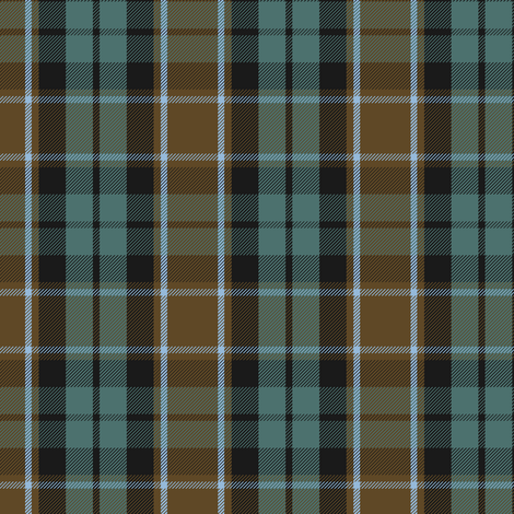 Graham of Menteith tartan (weathered) fabric by weavingmajor on Spoonflower - custom fabric