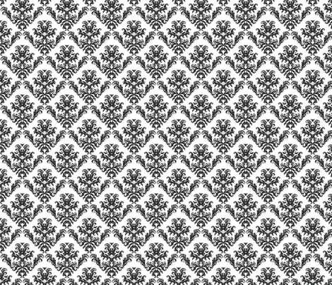 Don't be a damask fabric by mezzime on Spoonflower - custom fabric