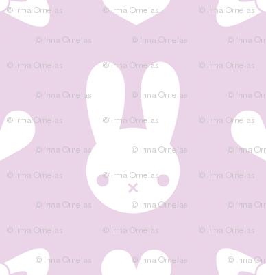 Pretty Bunny Pattern-Purple