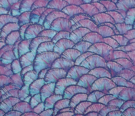 Peacocks Have Fab Pads ~ Punky Pink and Purple