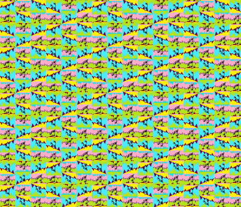 Cacophony fabric by ravynscache on Spoonflower - custom fabric