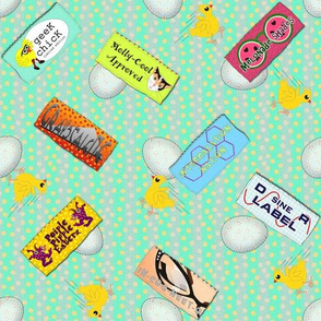 Geek Chicks Designer Labels