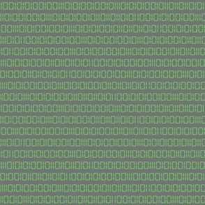 Robot Binary (Green & Gray)