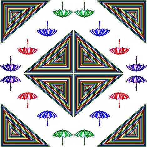 Rain Rain Go Away 2 fabric by ravynscache on Spoonflower - custom fabric