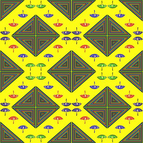 Rain Rain Go Away fabric by ravynscache on Spoonflower - custom fabric