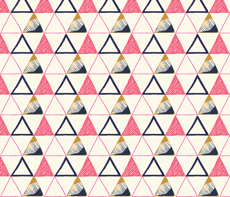 miles and mountains fabric by littlemarytradingco on Spoonflower - custom fabric