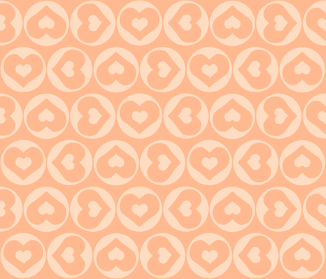 Candy Hearts fabric by ricerafferty on Spoonflower - custom fabric