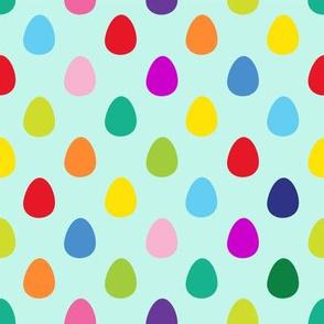 Mini Eggs Aqua