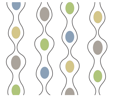 Modern_Abstract_Pods_Sketch fabric by the_spun_angora on Spoonflower - custom fabric