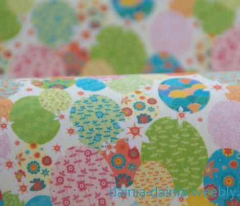 Floral pasqua eggs