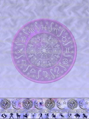 zodiac pale blue - small