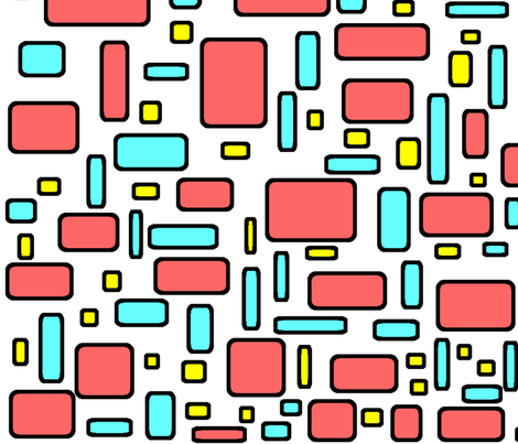 color me happy fabric by brandi_ on Spoonflower - custom fabric