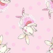 Ballet Bunny Pink Tutu Frou Frou Paris Bebe