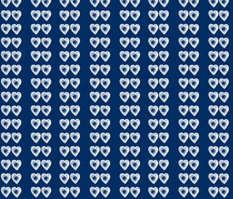 Time Lord Love - White Beats fabric by lapittrice13 on Spoonflower - custom fabric