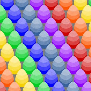 Ombre Rainbow Eggs!