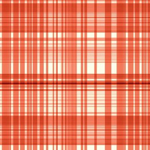 Tangerine plaid