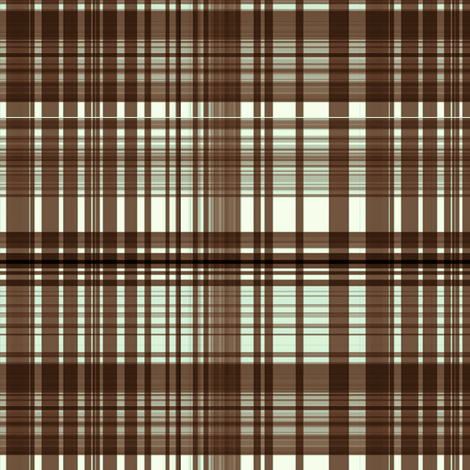 Chocolate mint plaid fabric by paragonstudios on Spoonflower - custom fabric