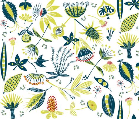 seeds2 fabric by antoniamanda on Spoonflower - custom fabric