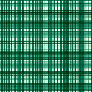 Emerald plaid