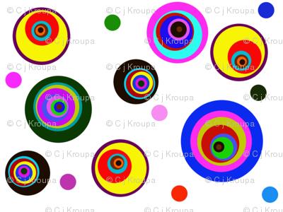Pinwheel Polkadots