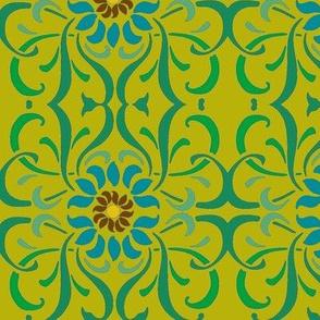 Art Nouveau60-green