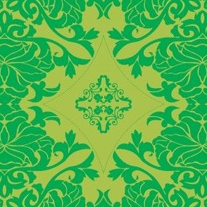 Art Nouveau18-green
