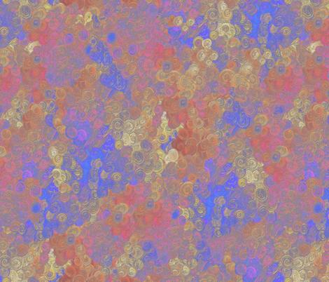 Rosy-hued dawn by Su_G fabric by su_g on Spoonflower - custom fabric
