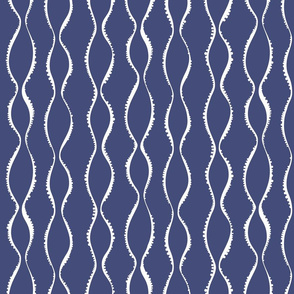 Bubble Waves navy
