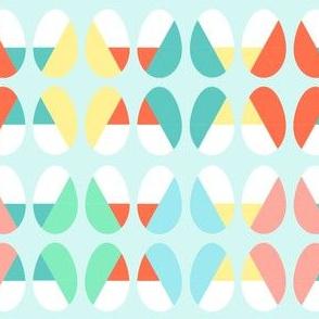 Diagonal Dip Eggs