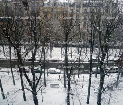 Last Snow of the Season, Paris 2013, variation 1a