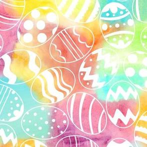 Watercolored Eggs