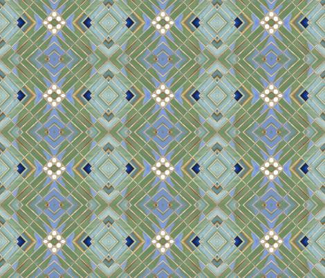 Metro Tiles 3 fabric by susaninparis on Spoonflower - custom fabric