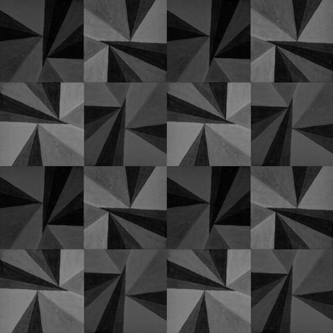 Grey Triangles fabric by doiknowyou on Spoonflower - custom fabric